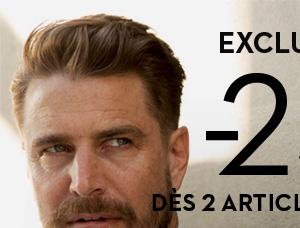 Exclu web -25%* dès 2 articles achetés jusqu à lundi 9h nouvelle collection
